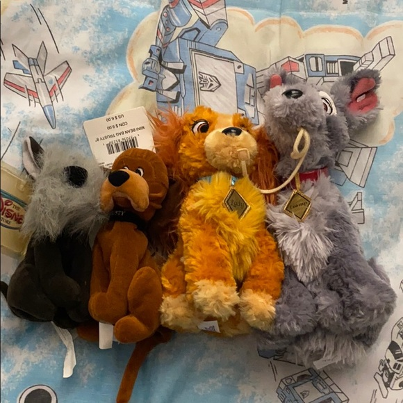Disney Other Lady And The Tramp Plush Lot Poshmark